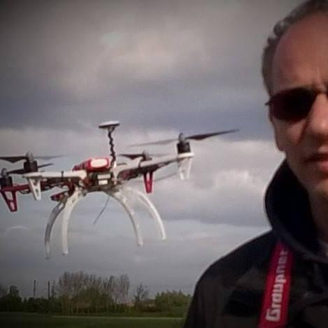 Marc Amrhein Pilote drones