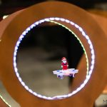 Animation mini drone parcours d'obstacle