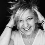 Portrait Noir et blanc de notre coach Sybille Willot Coach - dynamique