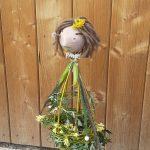 Photo de marionnette en végétaux et papier méché